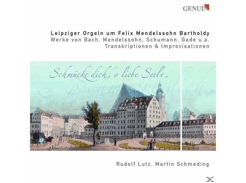 Schmeding & Lutz - THE MENDELSSOHN ORGANS IN LEIPZIG [CD]