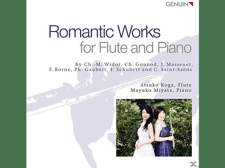 Koga,Atsuko/Miyata,Mayuko - Romantische Werke für Flöte und Piano [CD]