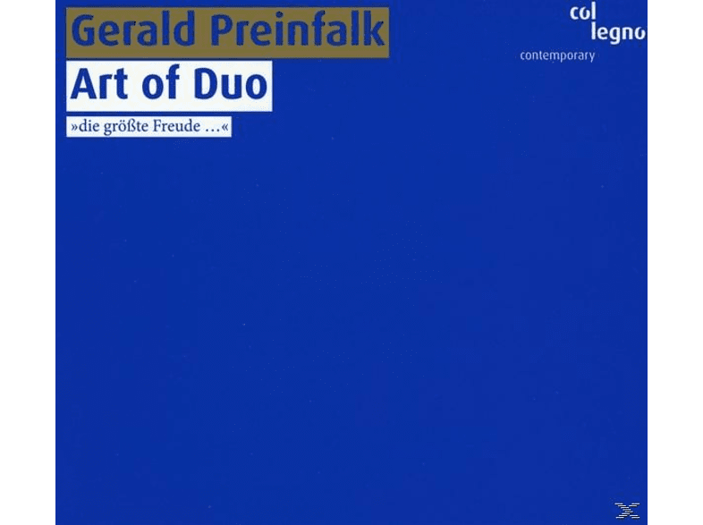 VARIOUS - Preinfalk: Art Of Duo [CD]