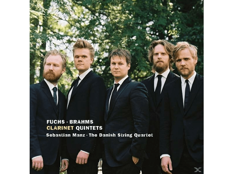 Sebastian Manz, Danish String Quartet - Klarinettenquintette [CD]