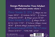 Georges Pludermacher (pno) - Klaviersonaten D.575 & 850 [CD]