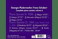 Georges Pludermacher - Klaviersonaten D.958 & 566 Vol.6 [CD]