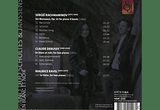 Piano Duo Scholtes & Janssens - En Blanc Et Noir  - (CD)