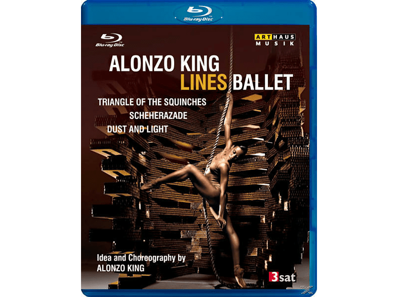 King Alonzo, Alonzo King Lines Ballet - From San Francisco 2011 [Blu-ray]