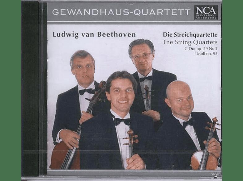 Gewhausorchester - Streichquartette C-Dur op.59 [CD]