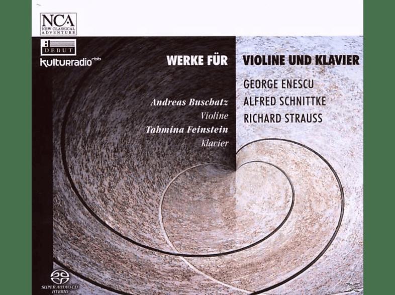 BUSCHATZ,ANDREAS & FEINSTEIN,TAHMINA - Werke Für Violine & Klavier [CD]