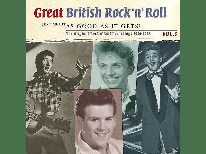 VARIOUS - Great British R'n'roll 3 [CD]