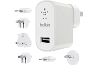 BELKIN F8M967BTWHT Netz-Ladegerät/Reiseset