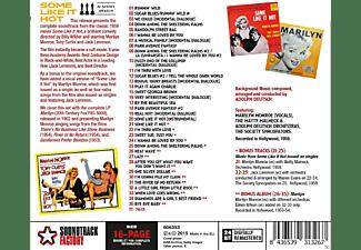 Marilyn Monroe, Tony Curtis, Jack Lemmon - Some Like It Hot (Ost)+15 Bonus Tracks  - (CD)