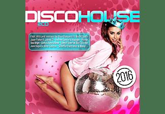 VARIOUS - Disco House 2016  - (CD)