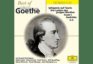 Gründgens/Kinski/Ponto/Quadflieg/Westphal/+ - Best Of Johann Wolfgang Von Goethe  - (CD)