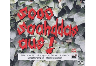 Wischmeyer,Dietmar & Kalkofe,Oli - Arschkrampen - Sooo Saahddas Aus  - (CD)