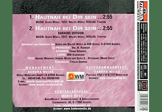 Weiss, Sandra & Vogt, Mario - Hautnah bei Dir sein  - (5 Zoll Single CD (2-Track))