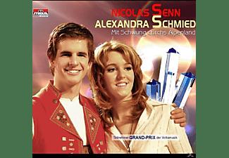 Senn, Nicolas & Schmied, Alexandra - Mit Schwung durchs Alpenland  - (5 Zoll Single CD (2-Track))