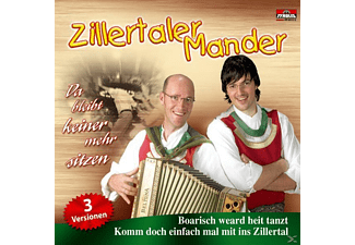 Zillertaler Mer - Da bleibt keiner mehr sitzen  - (5 Zoll Single CD (2-Track))