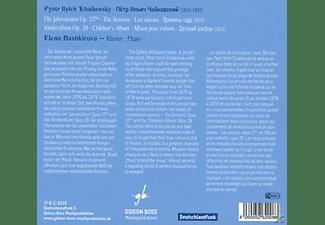 Elena Bashkirova - Die Jahreszeiten  - (CD)