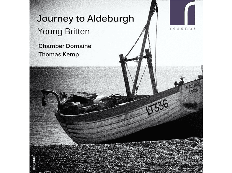 Chamber Domaine - Journey To Aldeburgh-Young Britten [CD]