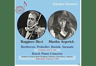 Martha Argerich, Ruggiero Ricci - Martha Argerich & Ruggiero Ricci-Leningrad  - (CD)