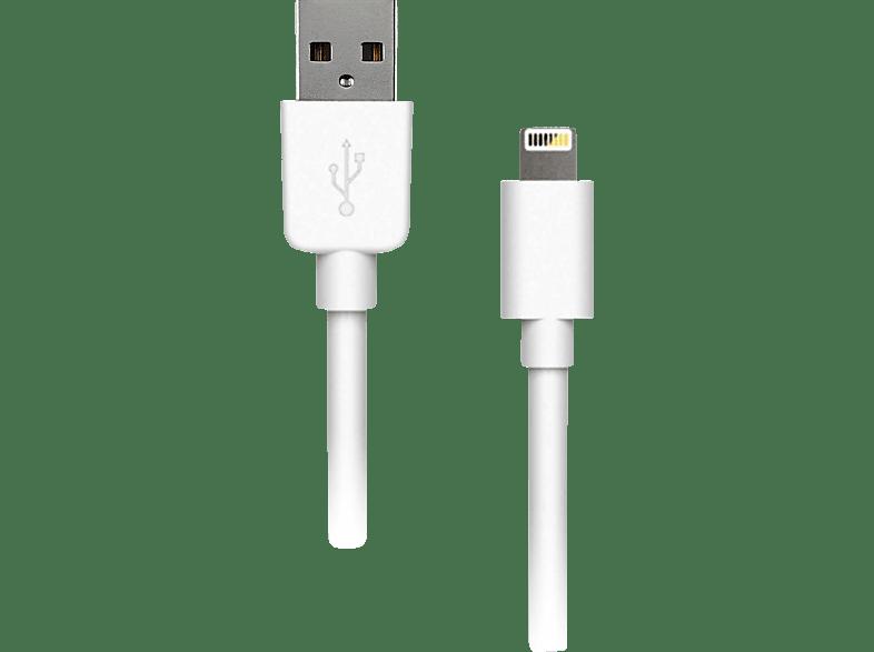 ARTWIZZ 8492-1616, Lightning Cable, 2 m, Weiß
