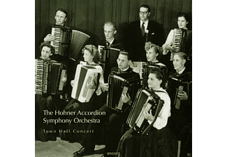 The Hohner Accordion Symphony Orchestra, VARIOUS - Town Hall Concert  - (CD)