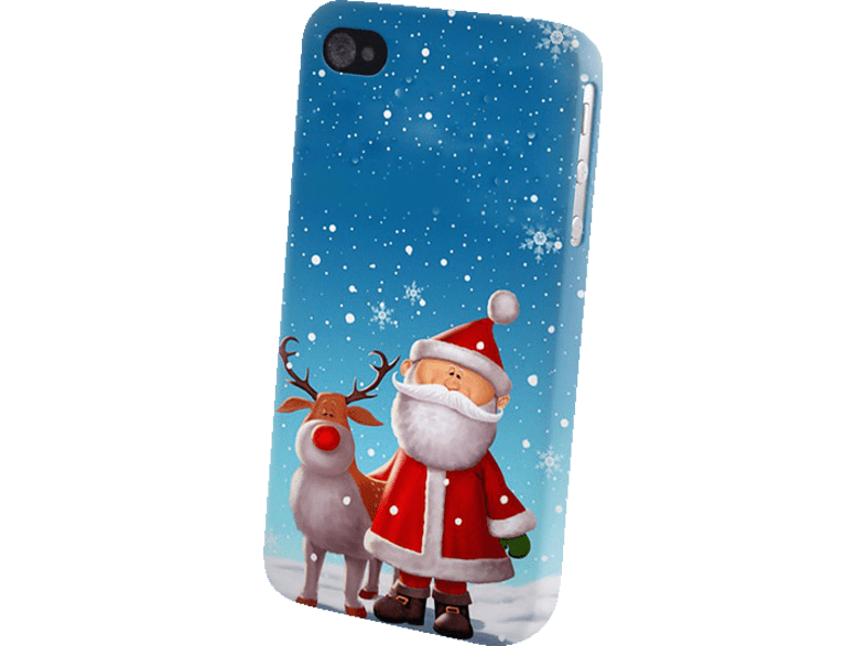 AGM 26113 , Backcover, Samsung, Galaxy S3, Galaxy S3 Neo, Kunststoff, Weihnachtsmann