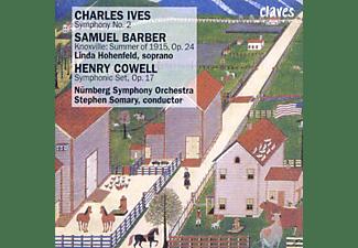 NUERNBERG SYMPHONY ORCHESTRA/SOMARY - Symphonische Werke  - (CD)