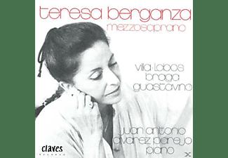 Teresa Berganza - Villa-Lobos/Braga/Guastvino  - (CD)