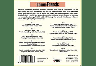 Connie Francis - 19 Original Albums & Bonus Tracks  - (CD)
