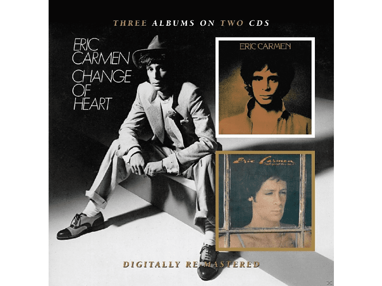 Eric Carmen - Boats Against The Current/ Change Of Heart [CD]
