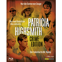 Patricia Highsmith (Crime Edition) [Blu-ray]