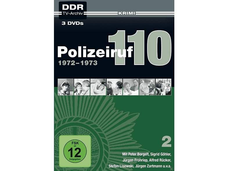 Polizeiruf 110 2.Box: 1972-1973 [DVD]