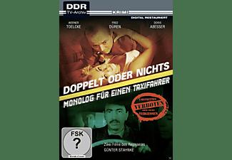 Doppelt oder nichts / Monolog für einen Taxifahrer DVD