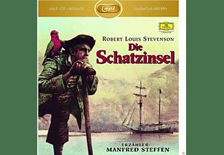 Manfred Steffen - Robert L.Stevenson: Die Schatzinsel  - (MP3-CD)