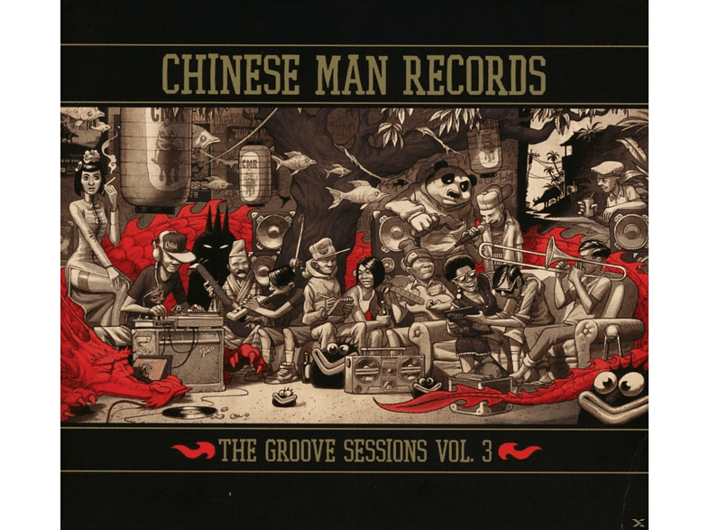 The Chinese Man - The Groove Sessions Vol.3 [CD]
