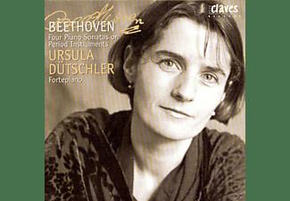 U Dutschler,P McNulty,Diverse - Vier Klaviersonaten auf historischen instrumenten  - (CD)