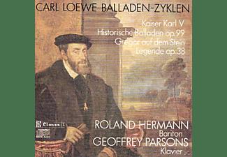Roland Hermann, Geoffrey Parsons - Balladen-Zyklen  - (CD)