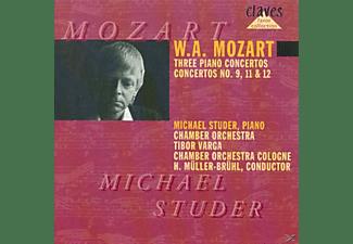 Michael Studer, Cologne Chamber Orchestra - Klavierkonzerte 9,11,12  - (CD)