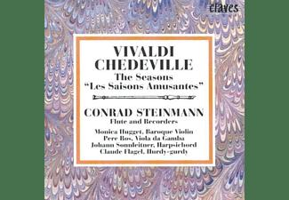Conrad Steinmann,M.Hugget,Diverse - Les Saisons Amusantes  - (CD)