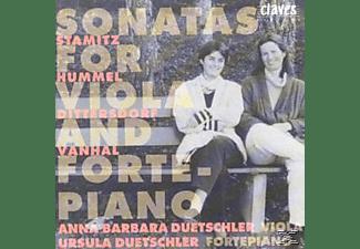 Ursula Dutschler Anna Barbara Dutschler - Sonaten Für Viola und Klavier  - (CD)