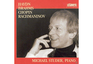 Michael Studer - Haydn/Brahms/Chopin/RachmaninOff  - (CD)