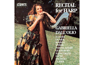 Gabriella Dall' Olio - Recital For Harp  - (CD)