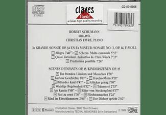 Christian Favre - Klaviersonate 3/ Kinderszene  - (CD)