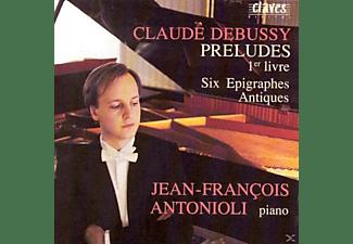 Antonioli Jean-francois - Preludes 1-er livre  - (CD)
