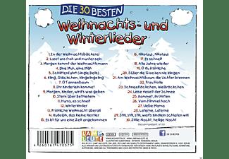 Simone Sommerland, Karsten Glück, Die Kita Frösche - Die 30 besten Weihnachts- und Winterlieder  - (CD)