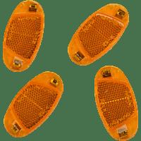 FISCHER 85400 REFLEKTOR SPEICHEN STVZO 4X (Orange)