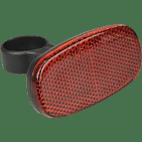 FISCHER 85402 REFLEKTOR HECK UNIVERSALHALTERUNG (Schwarz/Rot)