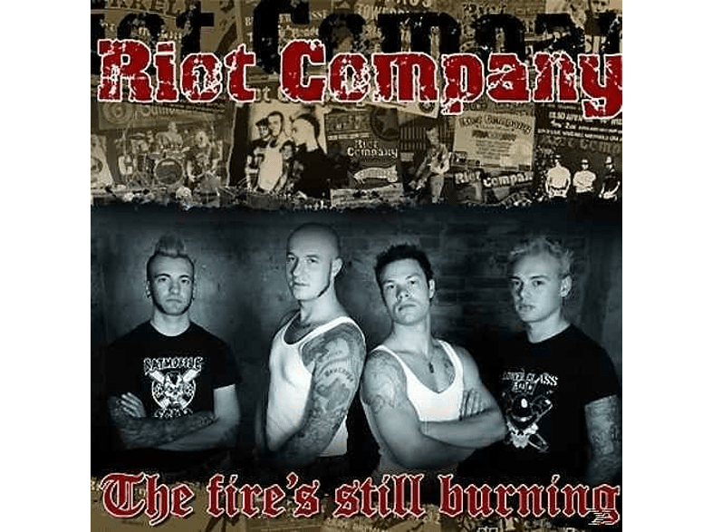 "Riot Company - The Fire's Still Burning (7"" Single) [Vinyl]"