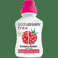 SODASTREAM 1321114490 Sirup Free Cranberry- Himbeere
