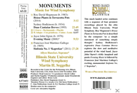 Illinois State University Wind - Monuments [CD]