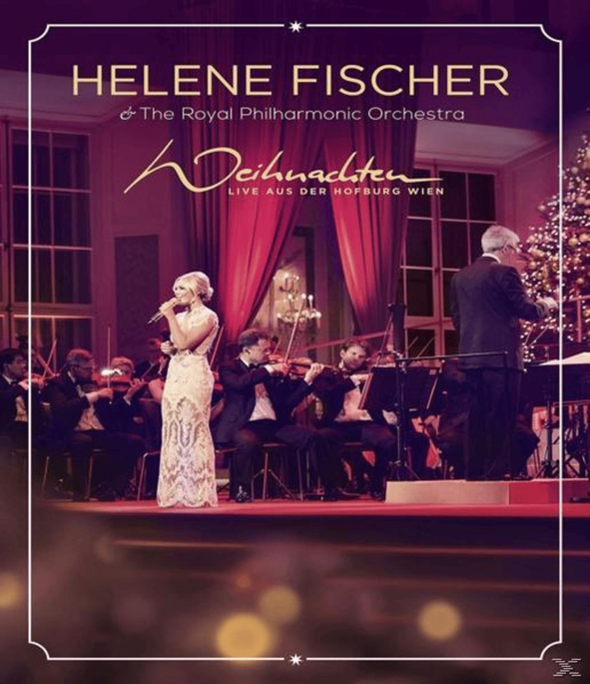 Weihnachten-Live Aus Der Hofburg Wien (mit dem Royal Philharmonic Orchestra) Helene Fischer auf Blu-ray
